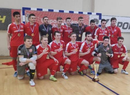 Красная гвардия - чемпион Москвы по мини-футболу среди команд Первой лиги!