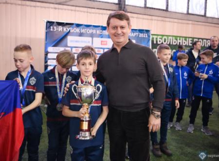 Александр Старцев принял участие в церемонии награждения «Кубка Колыванова»