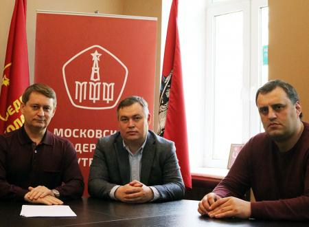 Александр Старцев провел рабочую встречу по развитию женского футбола в СШОР №46
