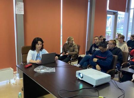 Ведущий преподаватель Центра по подготовке судей при МФФ Наталья Авдонченко провела семинар в ЖФК
