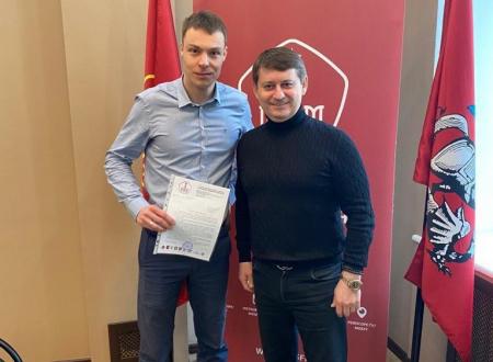 Московская федерация футбола выдала ходатайство о включении футбольного клуба «Кайрат» Москва в число участников Профессиональной футбольной лиги