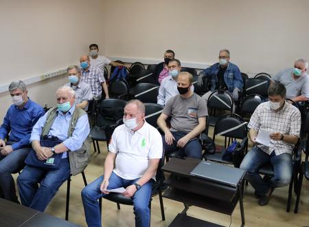 Совещание инспекторов, работающих на матчах Чемпионата Москвы среди команд ЛФК