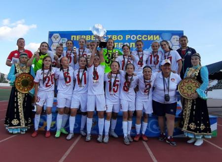 Сборная Москвы (девушки до 15 лет) - ПОБЕДИТЕЛЬ ПЕРВЕНСТВА РОССИИ!