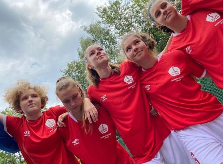 Вторая победа сборной Москвы (девушки до 17 лет) на Первенстве России