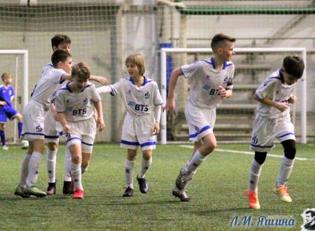 Динамо-2 выиграло Зимнее Первенство среди команд школ
