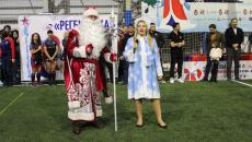 Регби - Ёлка в Новокосино