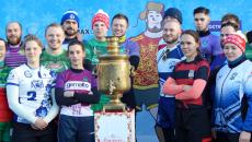 Снежное регби 2020 в Зеленограде