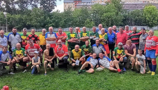 Ветераны провели матч посвящённый 75-летию Победы