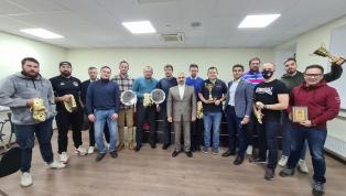 Награждение победителей Первенства любительских команд  сезона 2020