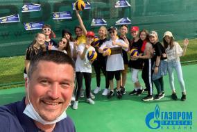 Школьная Волейбольная Лига в гостях у Академии Игоря Крутого в МЦ Волга!