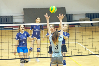 Выбираем самую активную школу зоны «Запад» Школьной волейбольной лиги