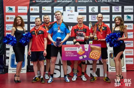 Винета - чемпион Кубка Суд-Пром 2021 по настольному теннису!