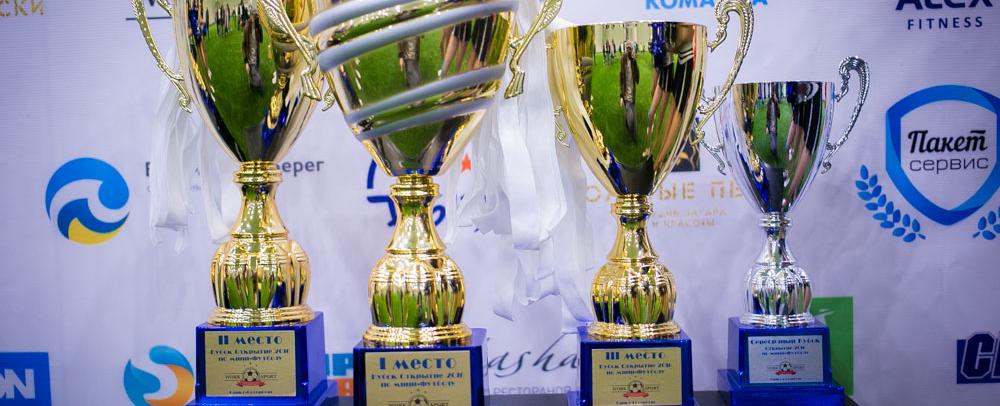 Обложка турнира Кубок Открытия 2016 по мини-футболу