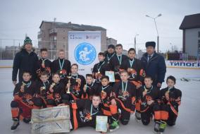 В Башкортостане проходят игры под эгидой «Золотой шайбы» (с. Раевский, Альшеевский район)