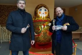 Алексей Тарасов и Алексей Швецов посетили фабрику