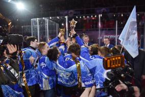 Финальные соревнования среди юных хоккеистов Клуба «Золотая шайба» в Перми. (фото В. Горшкова и Д.Кафискиной).