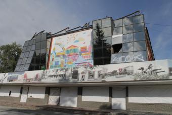 Бывший кинотеатр перестроят в хоккейный центр