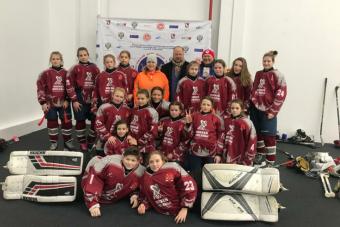 В Астрахани победили москвички