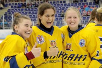 В Салавате определили сильнейшую хоккейную команду девушек.