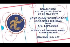 26.05.2019 Челябинские волчицы - Тверские тигрицы