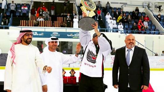 Арабы победили Канадцев в финале Эмиратской хоккейной лиги (EHL)