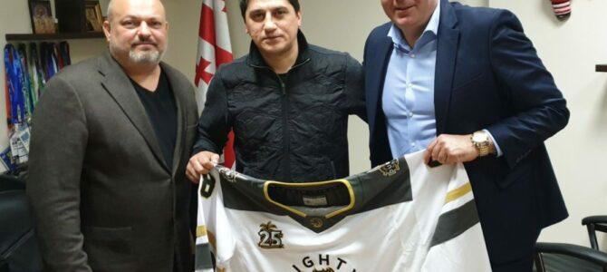 Владимир Бурдун: «Появление грузинской команды в Хоккейной Лиге Эмиратов выведет EHL на международный уровень»