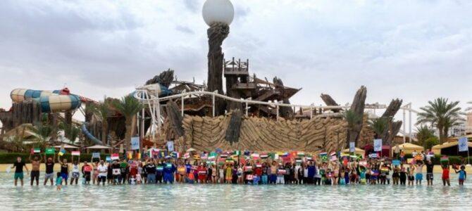Люди 102 национальностей помогли аквапарку Yas Waterworld установить рекорд Гиннеса