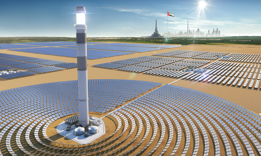 Shanghai Electric выступит подрядчиком V этапа проекта дубайского солнечного парка