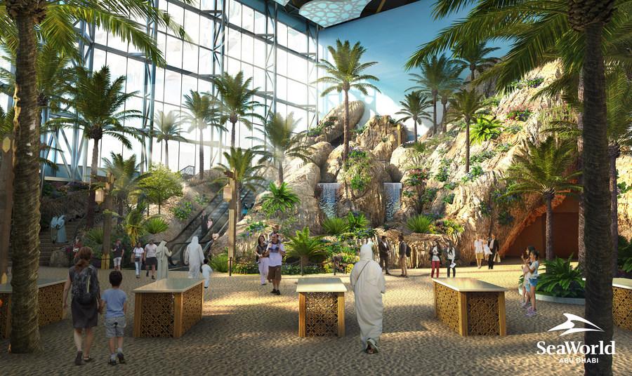 Miral отчиталась в завершении более 40% работ по строительству парка SeaWorld Abu Dhabi