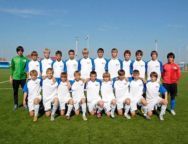 Победитель Первенства России по футболу среди юношей 92 года рождения - команда Акадамии футбола имени Коноплева