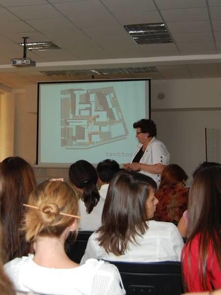 Лекция в Тольяттинском государственном университете