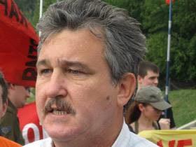 лидер профсоюза «Единство» Петр Золотарев