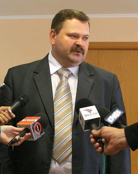 Помощник полпреда в Приволжском федеральном округе Олег Мельниченко