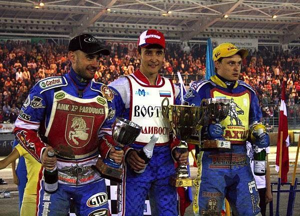Подиум чемпионата Европы 2009