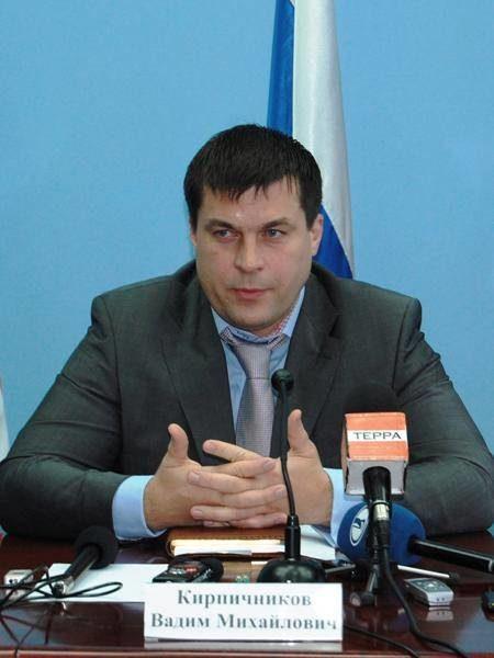 И.о. мэра Тольятти Вадим Кирпичников