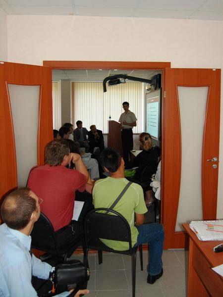 Участников семинара не смогла вместить лекционная аудитория