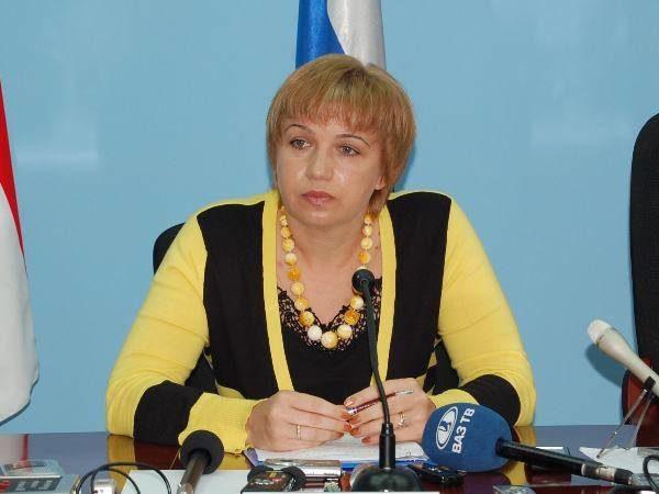 Руководитель департамента образования мэрии Ирина Кочукина