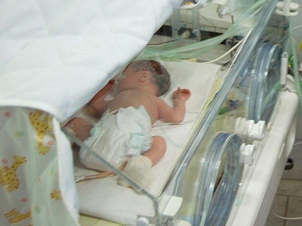 Самый маленький новорожденный мальчик семьи Рогачевых