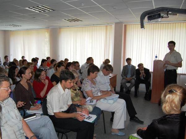 Семинар в бизнес-инкубаторе Тольятти