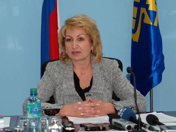Председатель Территориальной избирательной комиссии Центрального района Наталья Разыкова