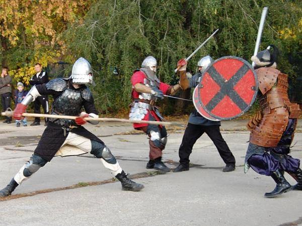 Турнир исторического фехтования