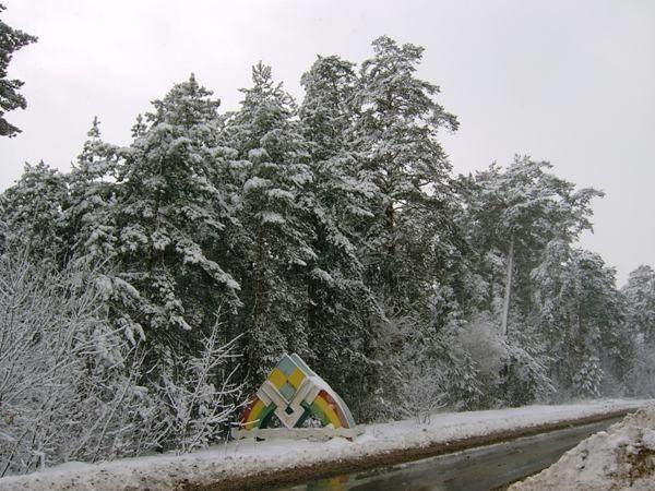 Снегопад 28 октября 2008 года