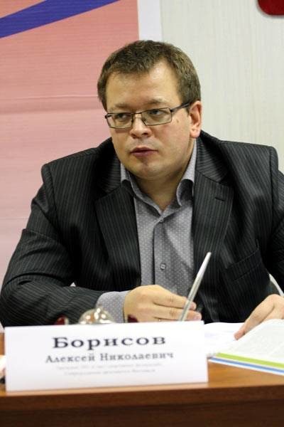 Президент совета спортивных федераций Алексей Борисов