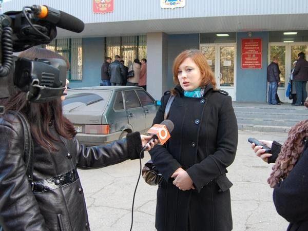 Мама погибшей девочки Наталья Савченко после объявления приговора врачу