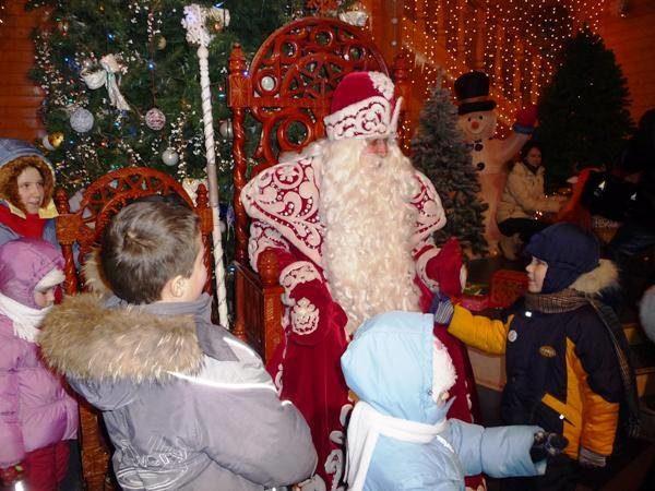 На вотчине Всероссийского Деда Мороза вВеликом Устюге