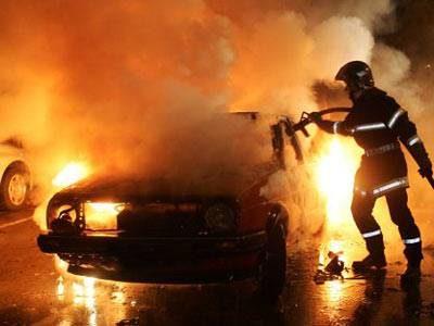 Поджог машин