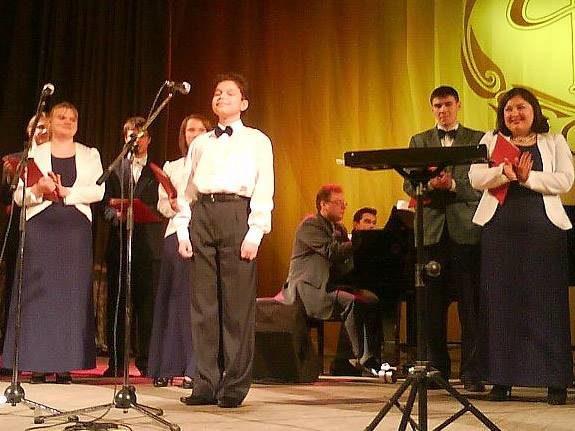 Камерный хор «Гармония» под управлением Татьяны Четковой (Тольятти)