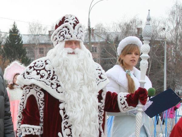 Всероссийский Дед Мороз вТольятти