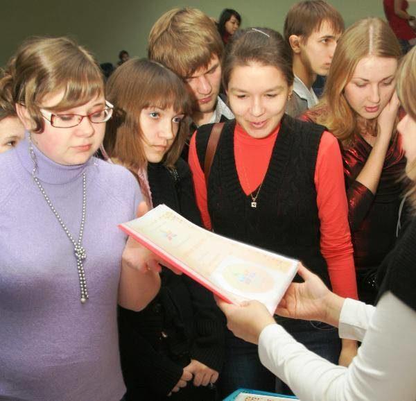 Почетные грамоты мэра– активным студентам ишкольникам Тольятти