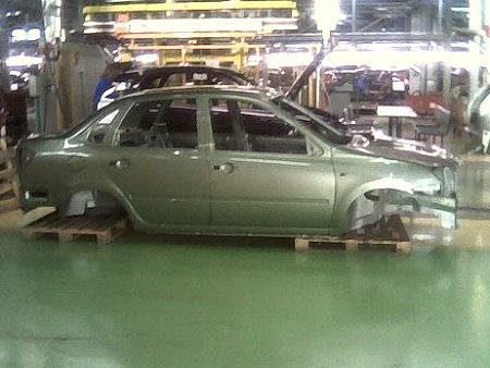 Кузов бюджетного автомобиля